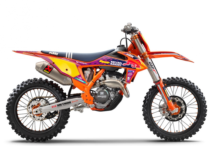 KTM 250 SX-F TROY LEE 2021
